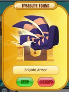 Turning The Tide- Dark Purple Brigade Armor