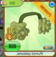 Jamaaliday Earmuffs (Green)