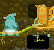 The Hidden Falls - Arctic Wolf Gate 1