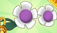 Flower Glasses Purple