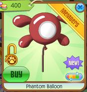 Phantom Balloon red