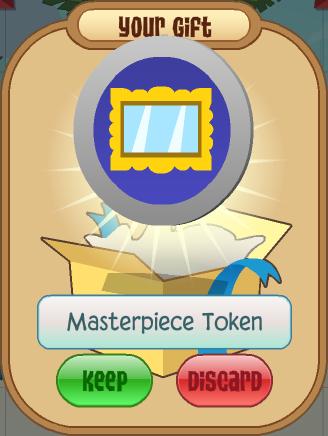 Masterpiece Token | Animal Jam Wiki | FANDOM powered by Wikia