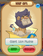MMM Giant Lion Plushie
