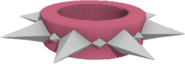 Pink spiked wrist long