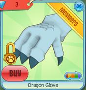 Dragon Glove blue