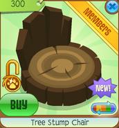Shop Tree Stump Chair Dark