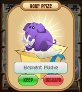 The-Claw Elephant-Plushie Tusks