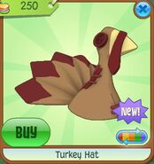 Turkey Hat brown