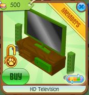 HD Television green