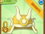 Golden Samurai Helmet