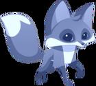 Fox art blue 1