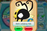 Member-Spin Rare-Ladybug-Hat