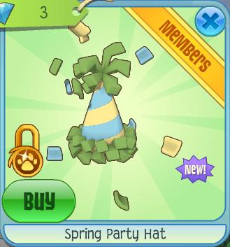 Spring Party Hat Animal Jam Wiki Fandom Powered By Wikia