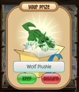 Wolf Plushie white elephants glitch