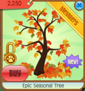 Epic Seasonal Tree FALL12-13-14