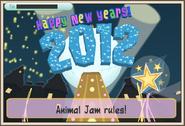 JAG Happy New Years 2012