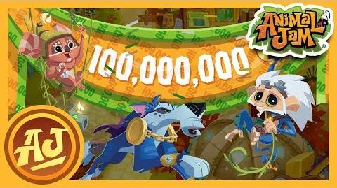 Join Us As We Celebrate 100 Million Players! Animal Jam & Play Wild