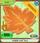 Maple Leaf Rug orange