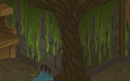 Cosmos-Den Green-Slime-Wall