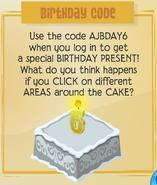 Jamaa-Journal Vol-180 Birthday-Code