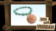 Rare Sand Dollar Necklace