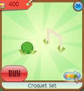 shop croquetset ball green - Croquet Set