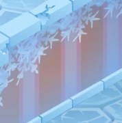 Snow Fort Pink Forest Walls