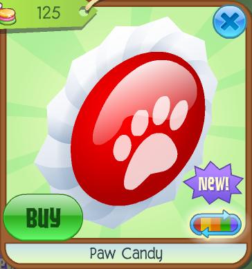 Paw Candy | Animal Jam Wiki | FANDOM powered by Wikia