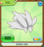 Shop Spiked-Hair White