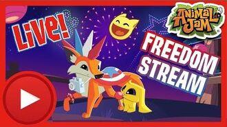 AJ Freedom Stream! Animal Jam & Play Wild