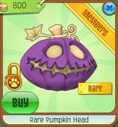 Shop Rare Pumpkin Head