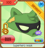Superhero mask 03