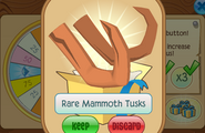Daily-Spin-Gift Rare-Mammoth-Tusks