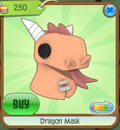 Dragon Mask orange