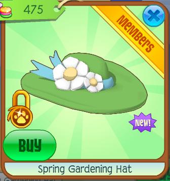 Spring Gardening Hat | Animal Jam Wiki | FANDOM powered by Wikia