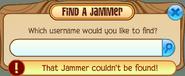Buddy-List Find-A-Jammer not-found