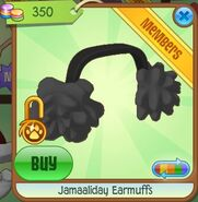 Jamaaliday Earmuffs (Black)