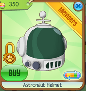 Shop Astronaut-Helmet Green