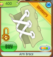Arm Brace green