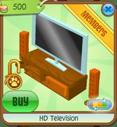 HD Television orange