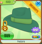 Shop Fedora Green