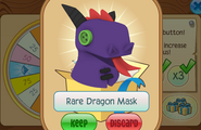 Daily-Spin-Gift Rare-Dragon-Mask