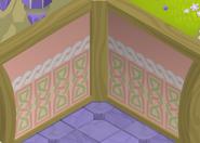 Fantasy-Castle Pink-Striped-Walls
