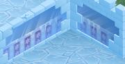 Snow-Fort Blue-Star-Walls