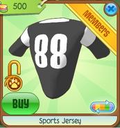 Sports Jersey black