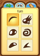Pet Dolphin Eye Choices