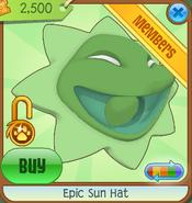Epic Sun Hat green
