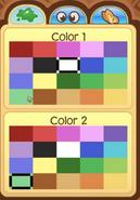 Pet Hedgehog colors