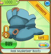 Shop Real-Musketeer-Boots Blue