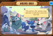 Wolves only party1